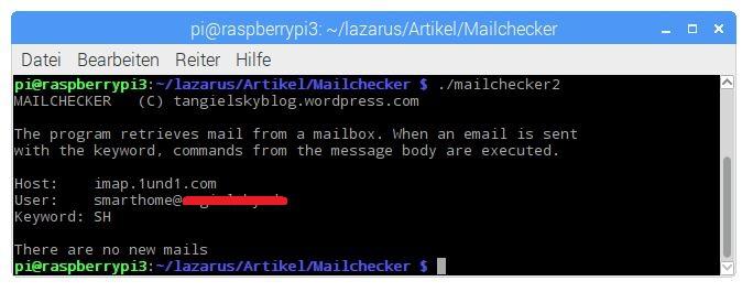 Test application mailchecker
