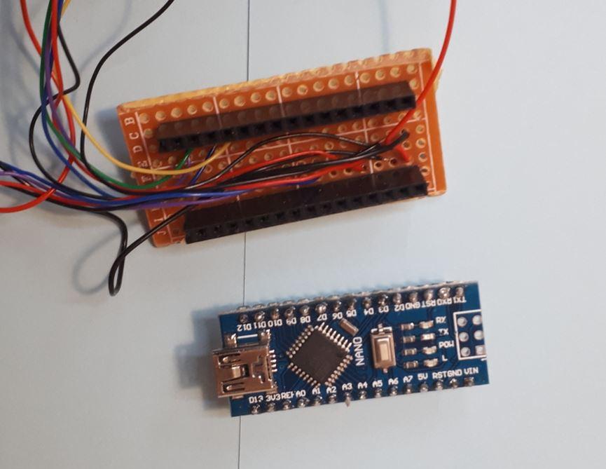 Aufsteckplatine für den Arduino Nano