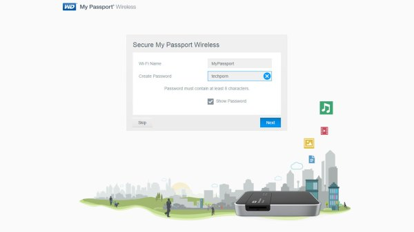 My Passport Wireless Setup (1)