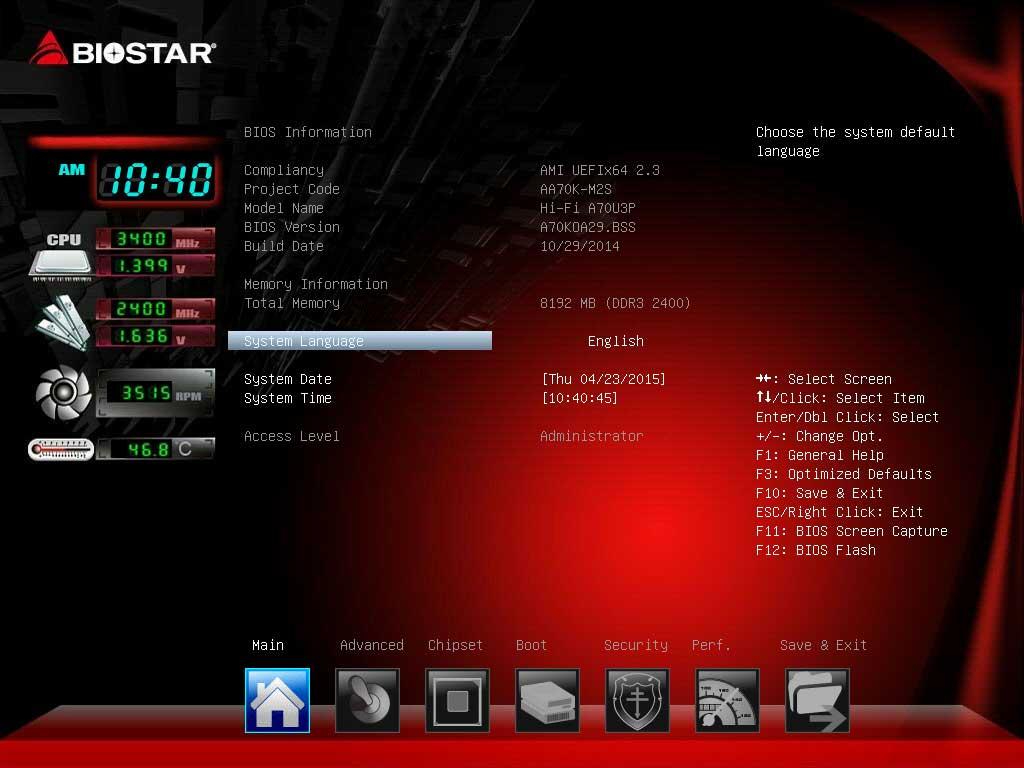 BIOSTAR A70U3P UEFI BIOS (1)