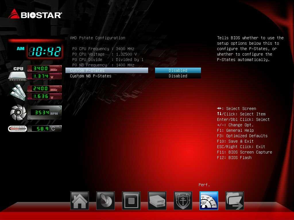 BIOSTAR A70U3P UEFI BIOS (6)