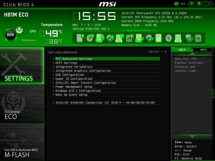 MSI H81 ECO BIOS UEFI (3)