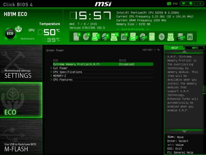 MSI H81 ECO BIOS UEFI (4)