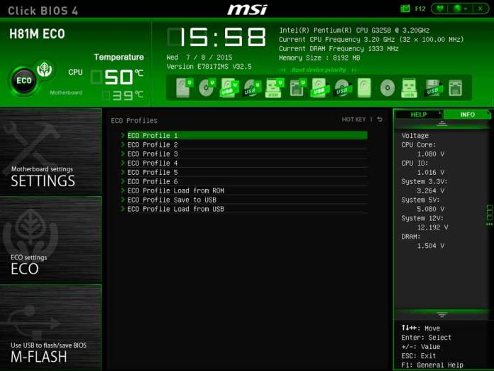 MSI H81 ECO BIOS UEFI (6)