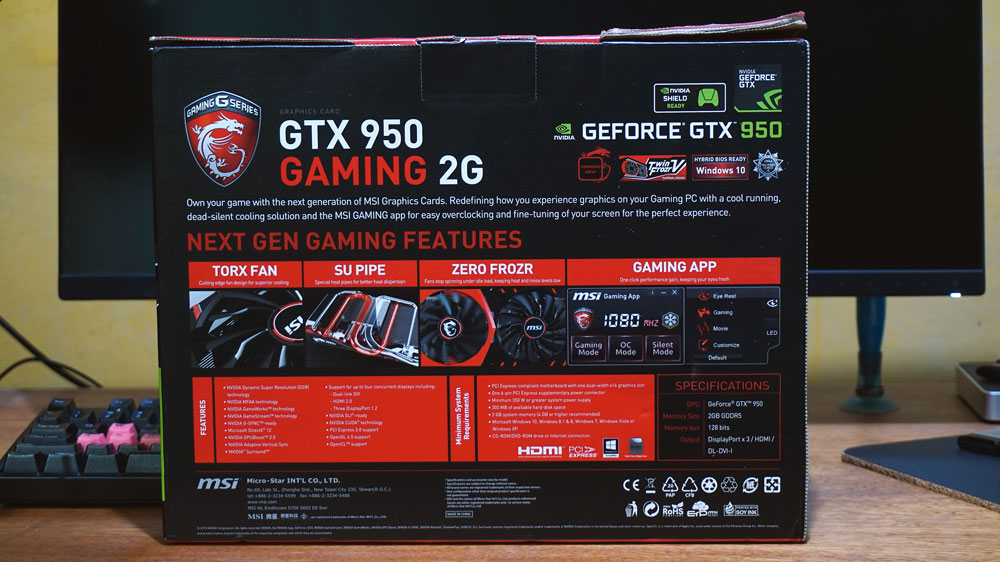 MSI GTX 950 Gaming Review (2)
