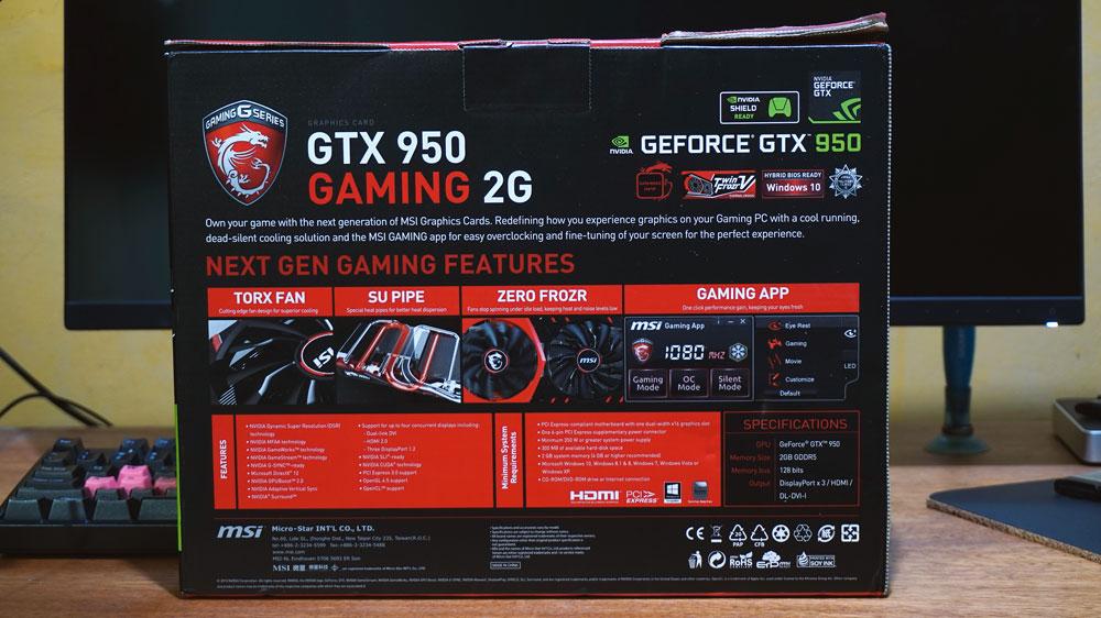 MSI GTX 950 Gaming Review (2)