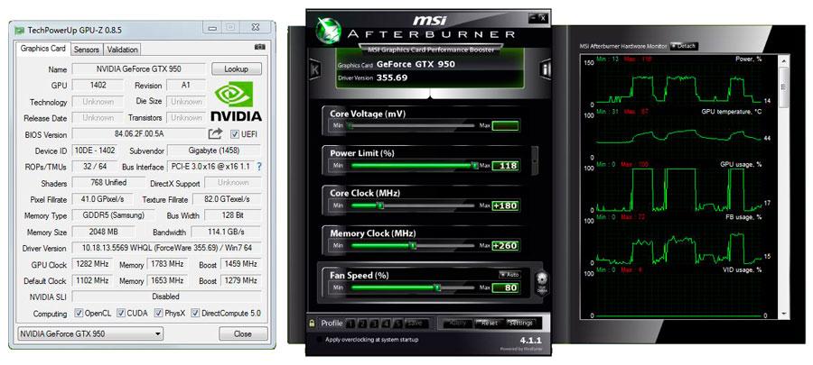 GIGABYTE-GTX-950-GPU-Z-OC