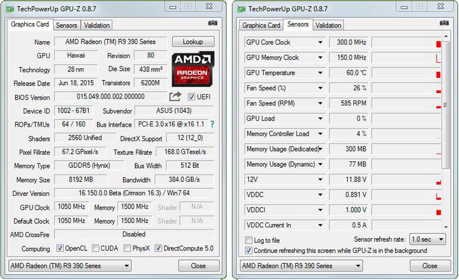ASUS R9 390 SERIES DRIVER FOR PC