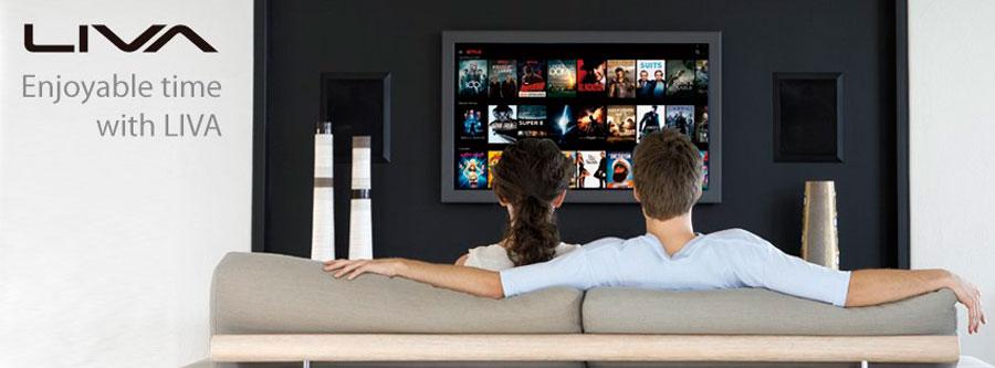ECS LIVA Mini PC Netflix PR