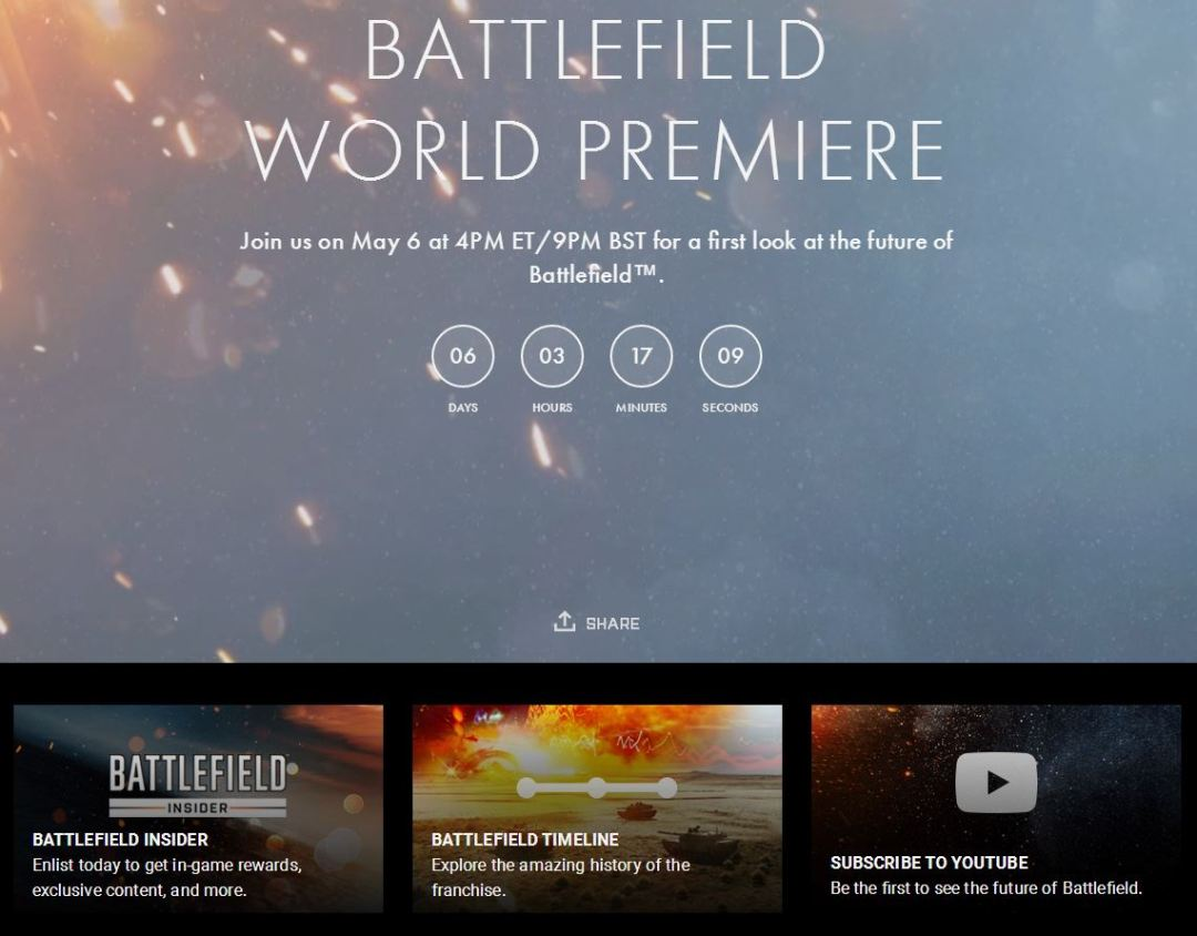 Battlefield 5 Reveal News