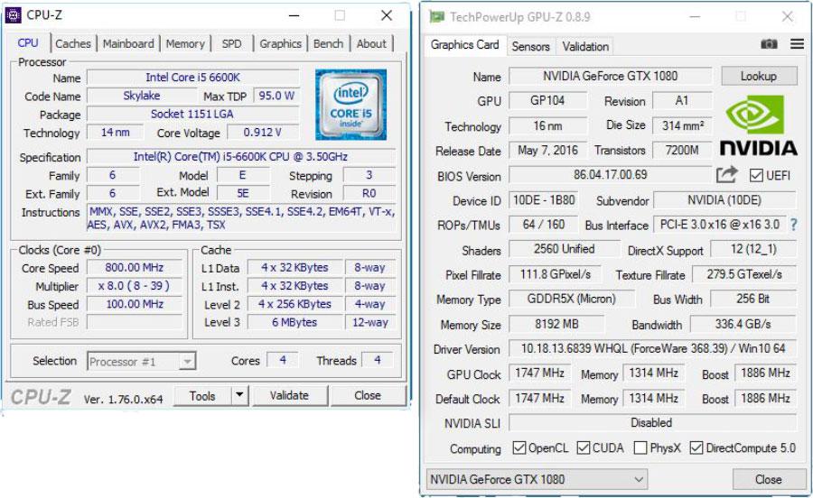 Palit GTX 1080 Benchmark (1)
