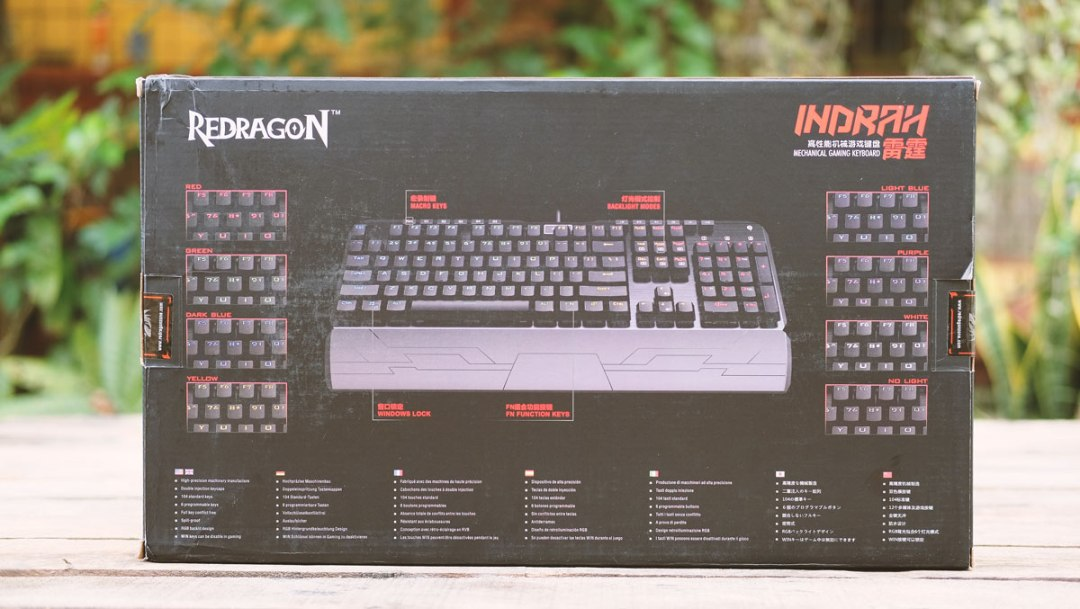 REDRAGON Indrah White