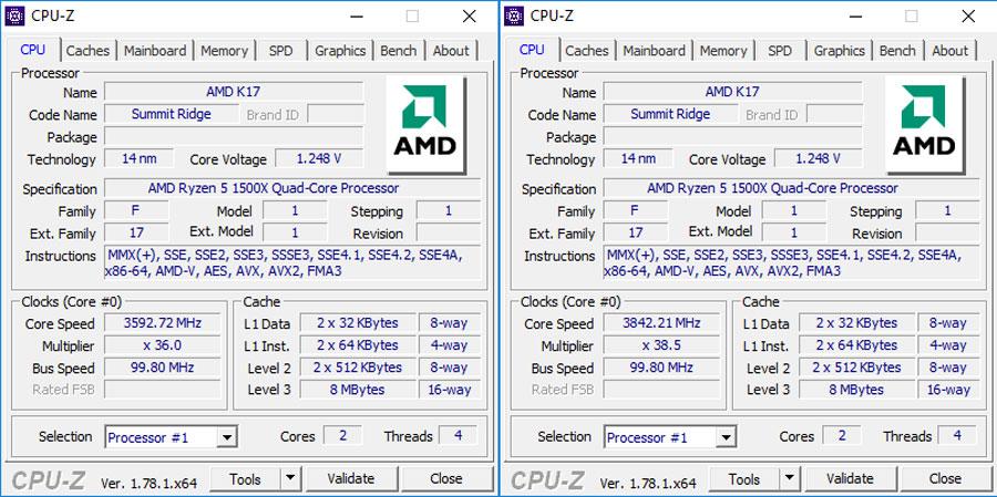 Review | AMD Ryzen 5 1500X AM4 CPU | TechPorn