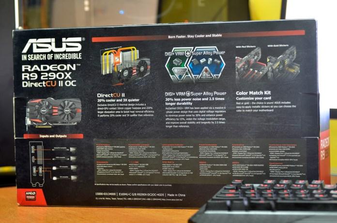 ASUS Radeon R9 290X DirectCU II OC (2)