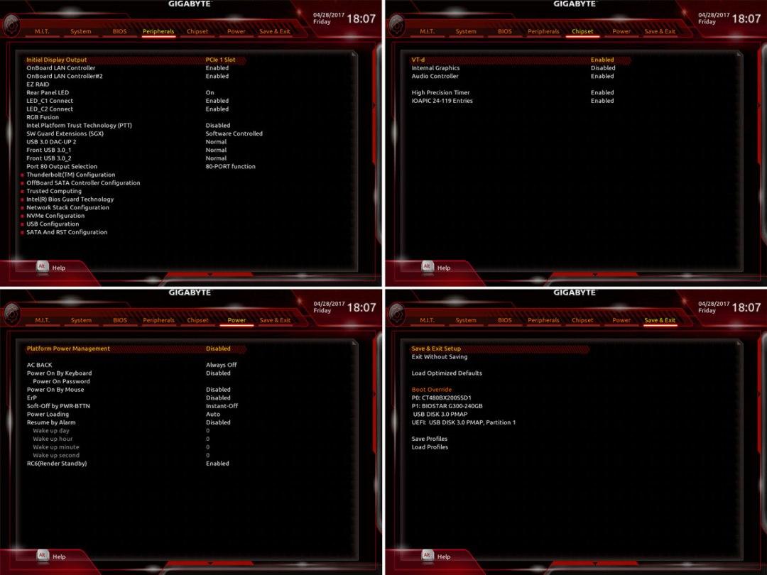 Review | GIGABYTE AORUS GA-Z270X-Gaming 9 Motherboard | TechPorn