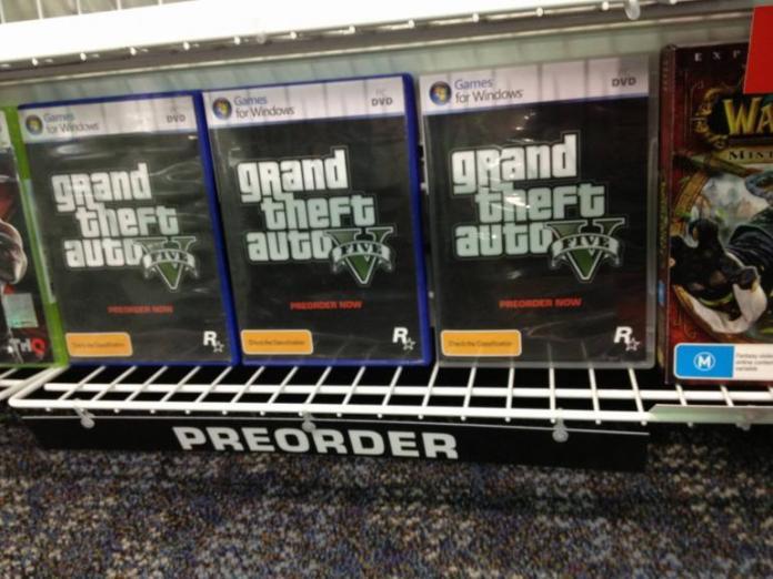 GTA V PC Retail Version