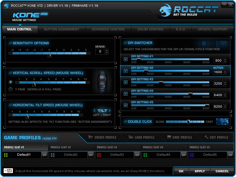ROCCAT Kone XTD Softwares (2)