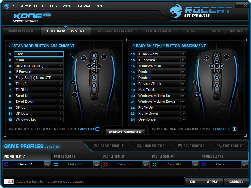 ROCCAT Kone XTD Softwares (4)
