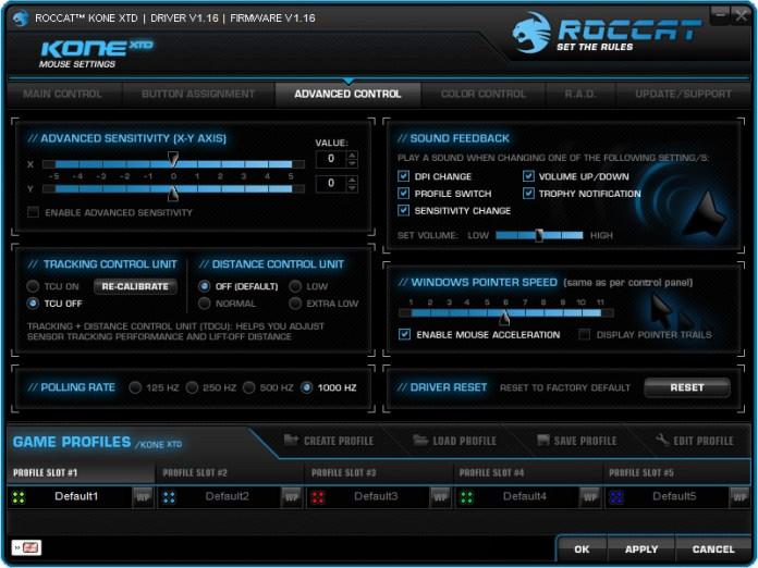 ROCCAT Kone XTD Softwares (5)