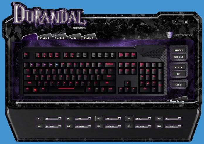 Tesoro Durandal Software (3)