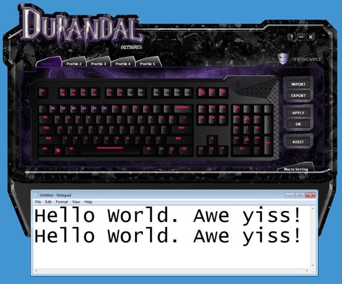 Tesoro Durandal Software (5)