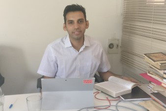 Country Manager Venkatesh Krishnamoorthy, based in New Delhi, India, volunteered at Sahapedia