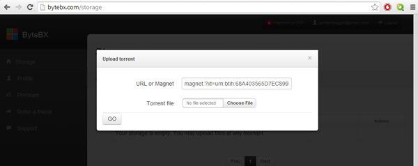 convert torrent links into direct links