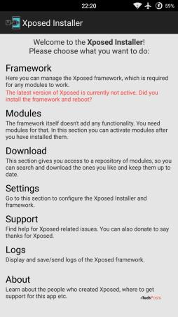 Xposed framework for Android 5.0 Lollipop is Here