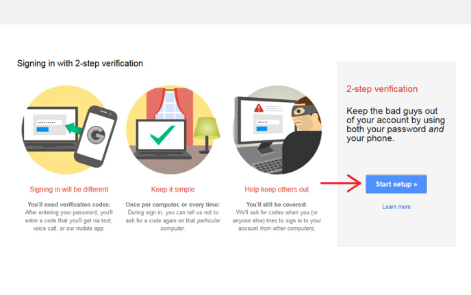 How to Protect Your Gmail Account from Hacking with 2-Step Verification Techposts