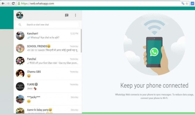Chat With your friends using Whatsapp on PC - Windows 7, 8 or XP