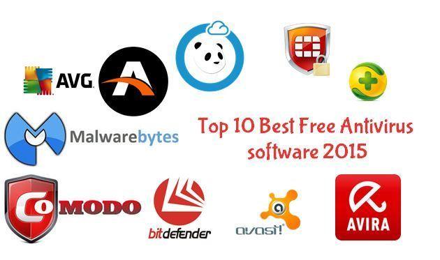 Top10 best Free Antivirus Software Of 2015