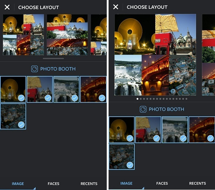 Combine Multiple Instagram Photos into A Single Image/ Make A collage