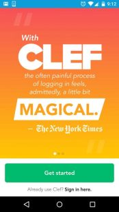 Clef app for Mobile