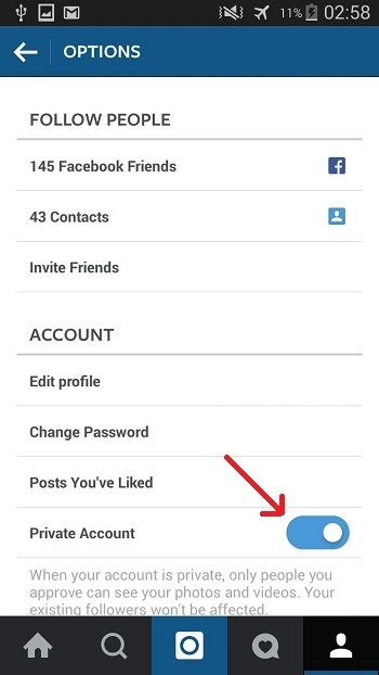 Keeping Your Instagra Account Private -Techposts