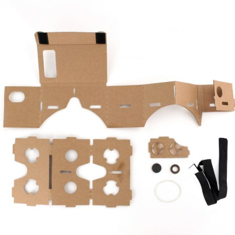 Things Needed for DIY Google cardboard