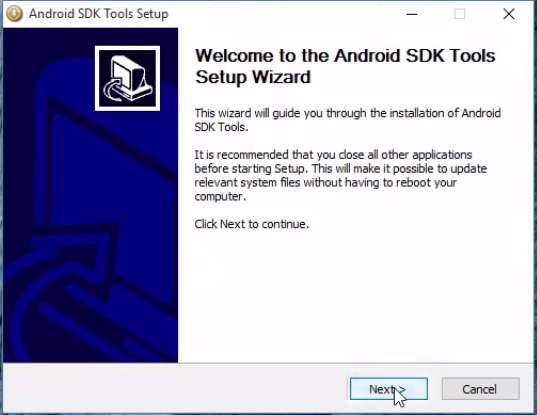 Installing Android SDK Tools