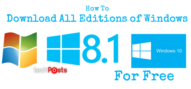 Download All Editions of Windows OS for Free