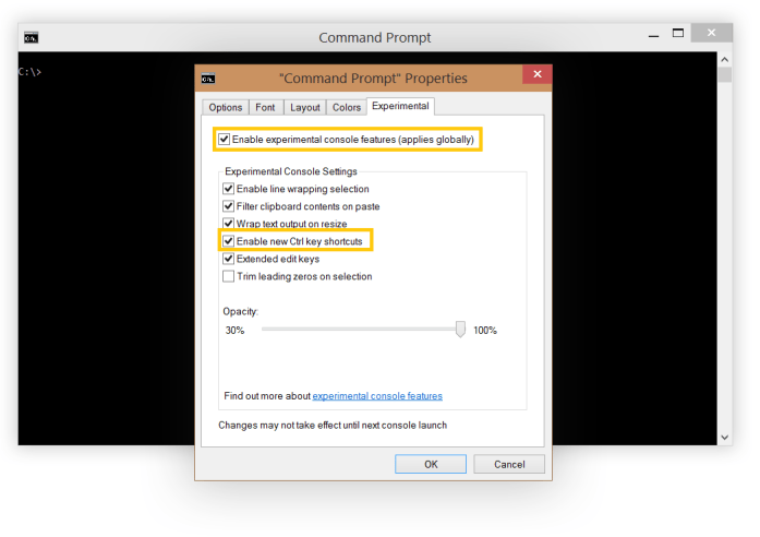 Enable Copy Paste in Command Prompt