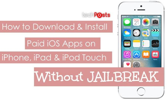 Install Paid iOS apps for Free