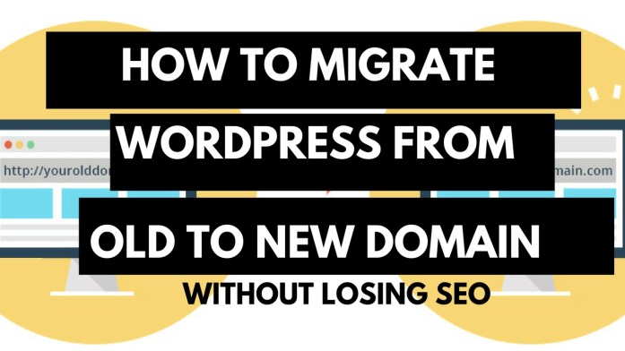 How to Migrate wordpress site from one domain to another without lossing seo