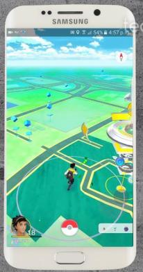 Joystick Control appears No Root Pokemon Go Hack