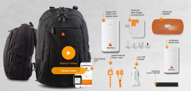 iBackpack - Next Generation Backpack