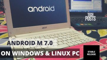 Install Android 7.0 on Any Windows PC
