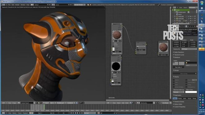 Blender Free Graphics Designing Tools for Windows & MacOS
