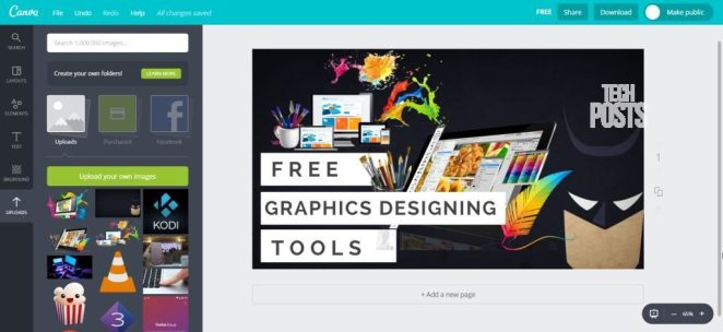 Canva Free Graphics Designing Tools for Windows & MacOS 2017