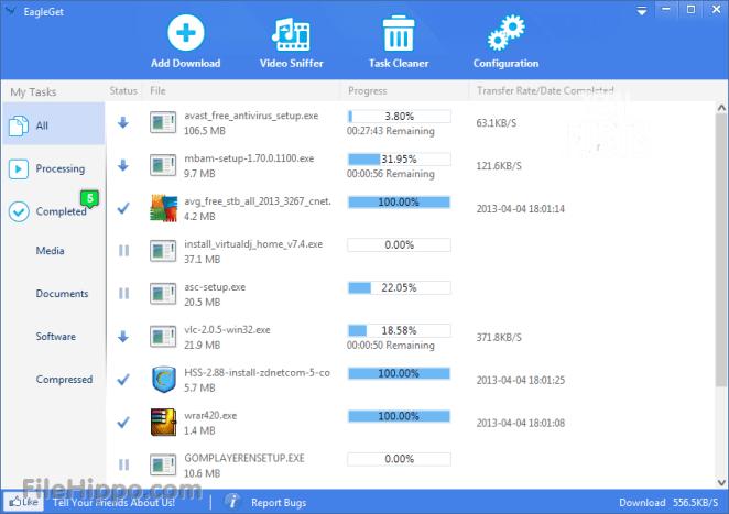 Eagle Get Downloader