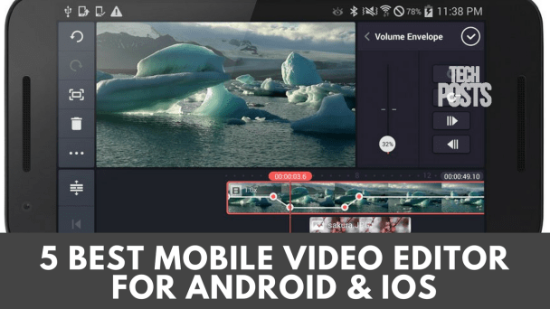 Best Mobile Video Editor 2017