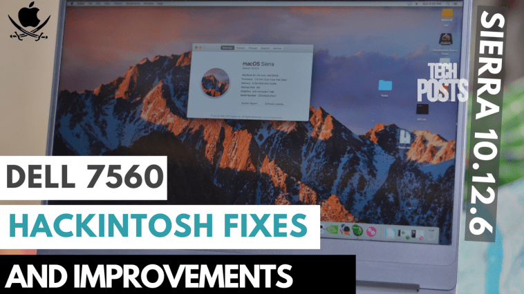 Dell 7560 Hackintosh Foxes and Improvemnets