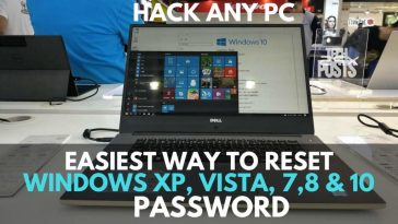 Reset Windows Password withou CD or software