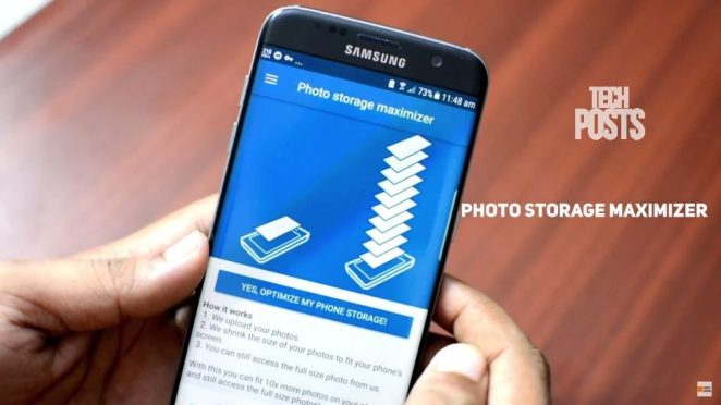 Photo storage Maximizer to increase STorage on your Android and iPhone